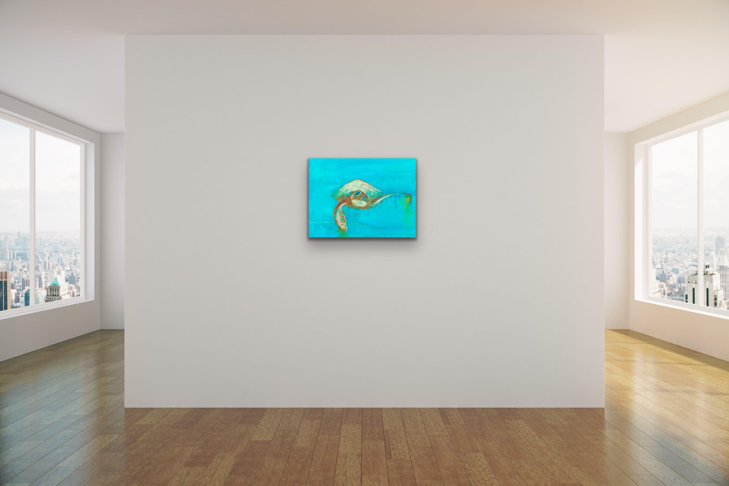 <div class='title'>           John Baran   Turtles Whales Turquoise Resin bright teal aqua aquamarine underwater sea life original evo art maui lahaina gallery front street 3         </div>