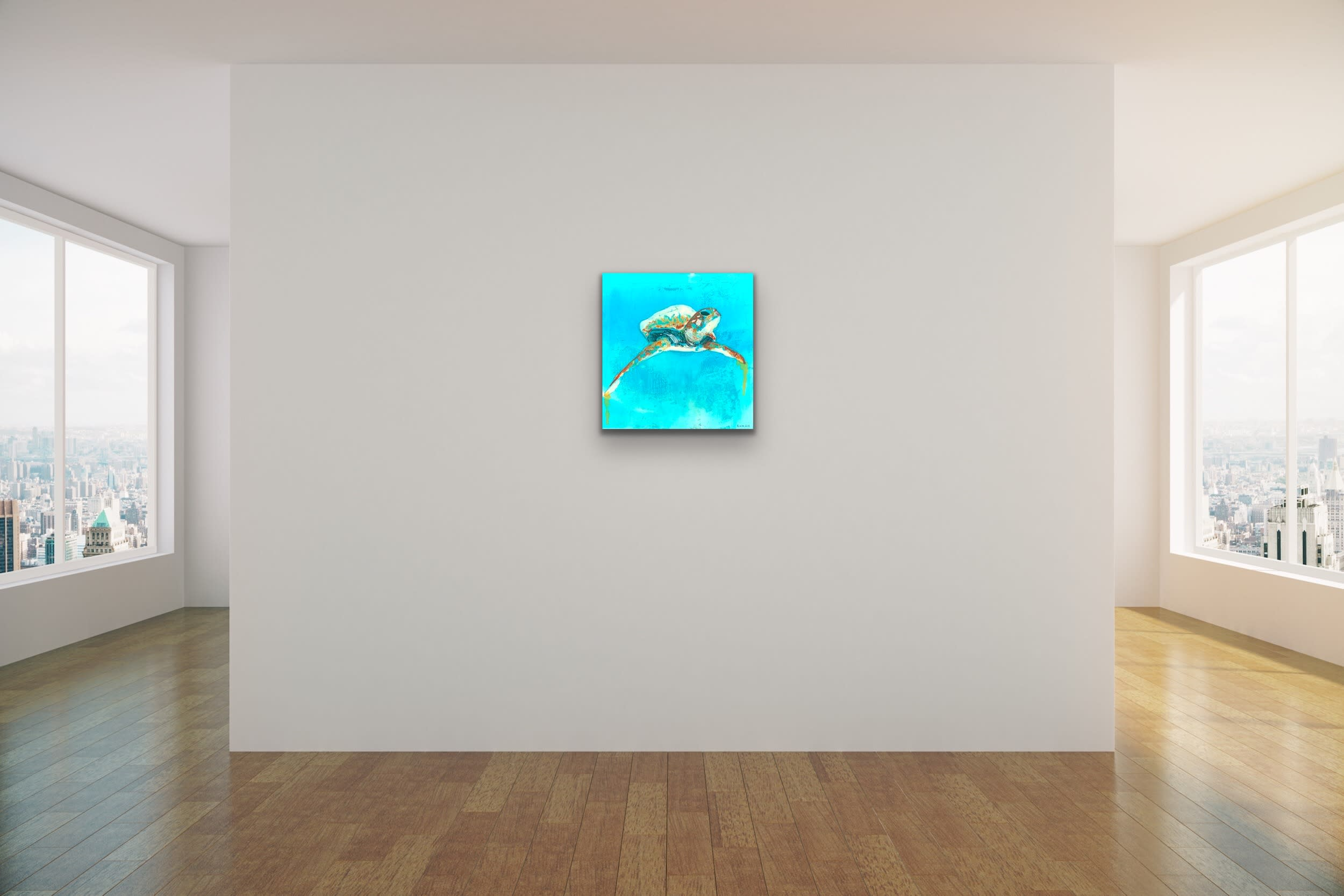 <div class='title'>           John Baran   Turtles Whales Turquoise Resin bright teal aqua aquamarine underwater sea life original evo art maui lahaina gallery front street 1         </div>