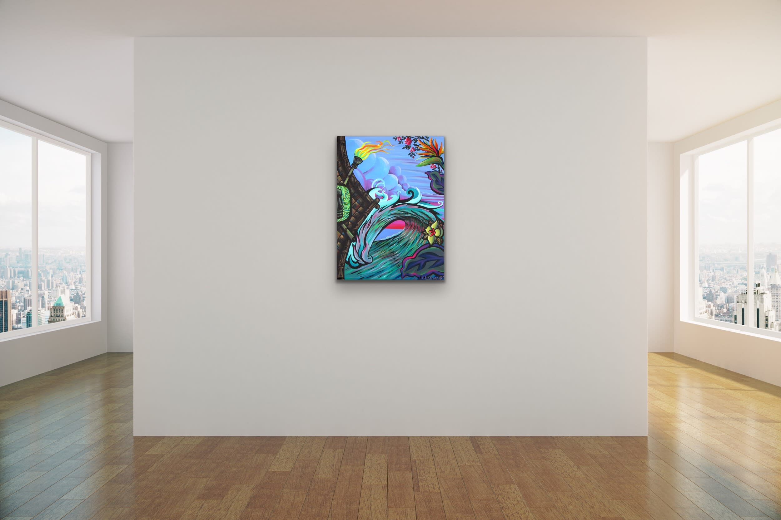 <div class='title'>           Shannon Oconnell Paintings Mock Ups Evo Art Maui Lahain Front Street Gallery Collect Popular Colorful Ocean Flowers Scenery Waves 6         </div>
