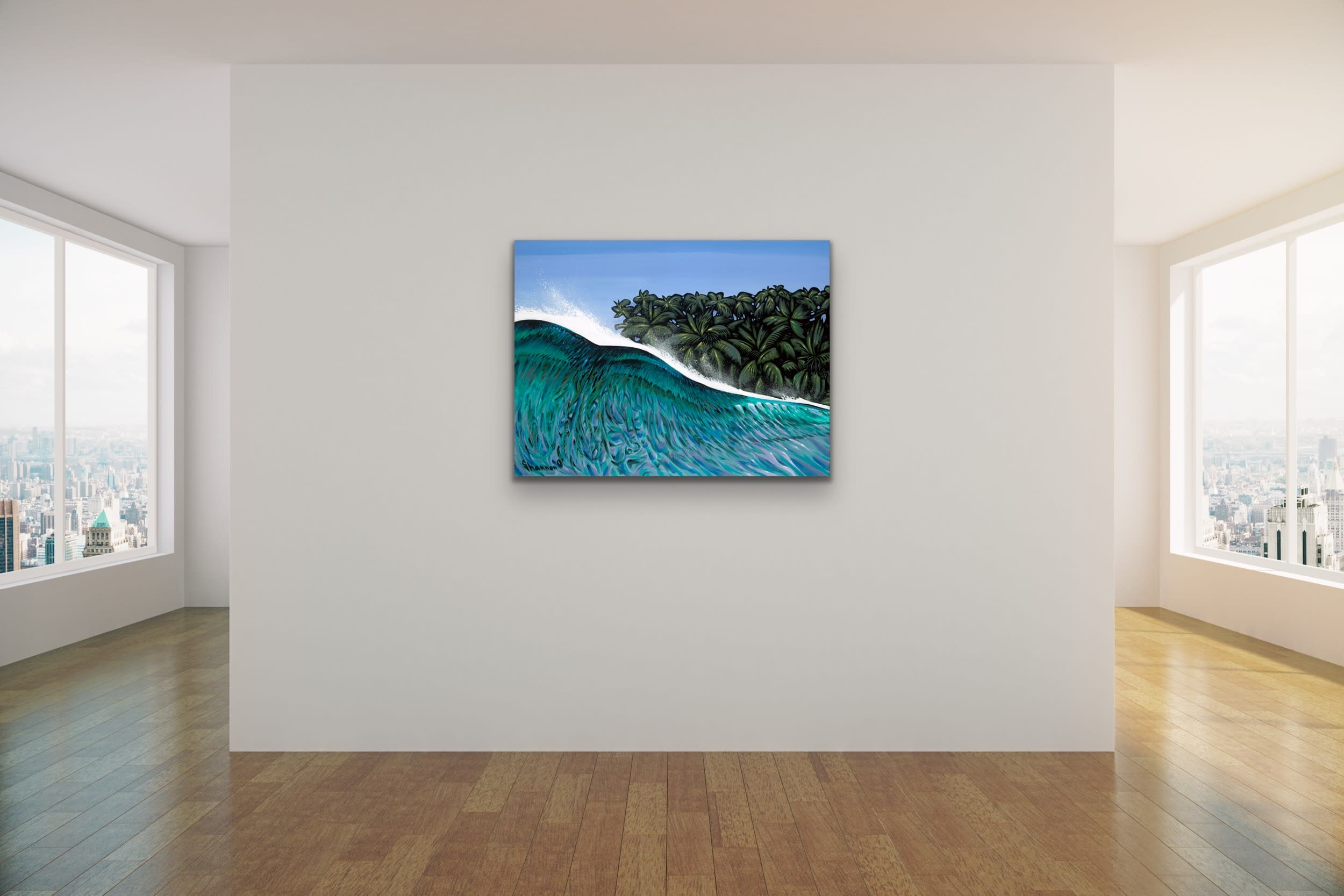 <div class='title'>           Shannon Oconnell Paintings Mock Ups Evo Art Maui Lahain Front Street Gallery Collect Popular Colorful Ocean Flowers Scenery Waves 21         </div>