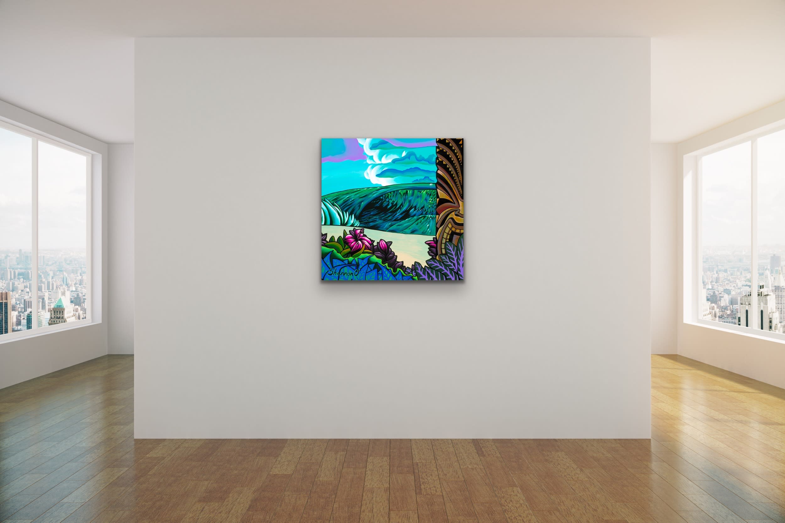 <div class='title'>           Shannon Oconnell Paintings Mock Ups Evo Art Maui Lahain Front Street Gallery Collect Popular Colorful Ocean Flowers Scenery Waves 27         </div>