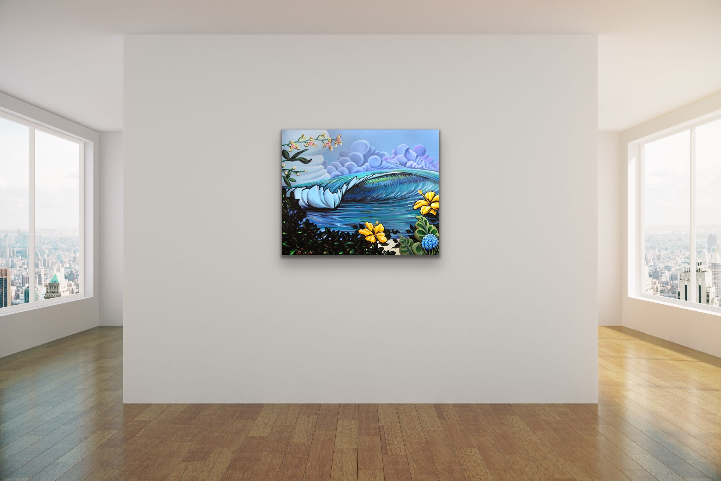 <div class='title'>           Shannon Oconnell Paintings Mock Ups Evo Art Maui Lahain Front Street Gallery Collect Popular Colorful Ocean Flowers Scenery Waves 2         </div>