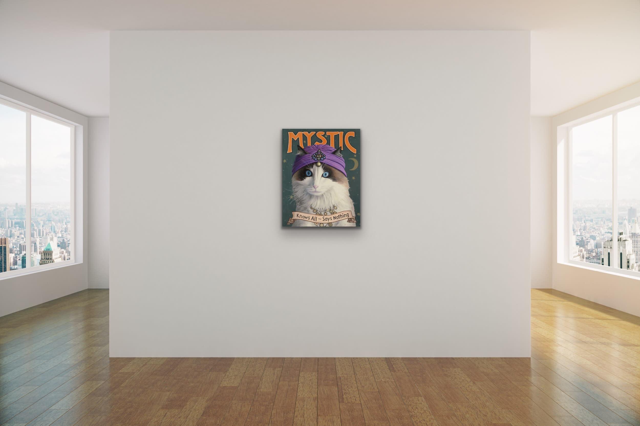 <div class='title'>           Paul Bond   Evo Art Maui Mystic Mock Ups Magical Realism Animals Cat Front Street Gallery Lahaina Hawaii 1         </div>