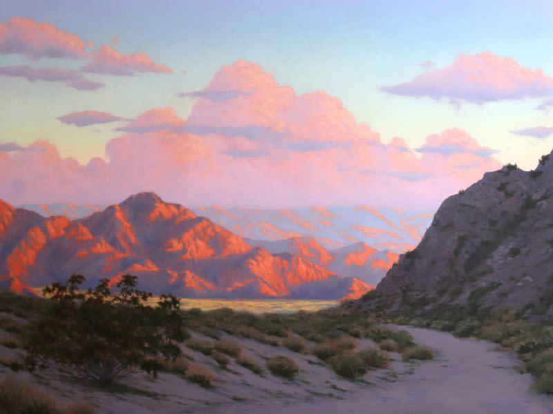 <div class='title'>           Sunrise Trail Walk 48w x 36h         </div>