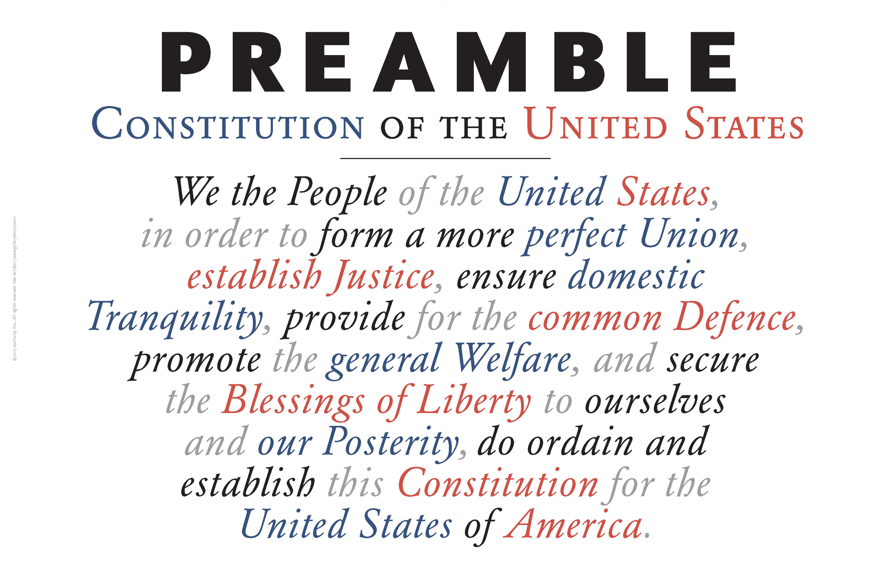 <div class='title'>           Preamble to US Constitution          </div>                 <div class='description'>           Another in my series of Founding Documents Americana Posters         </div>