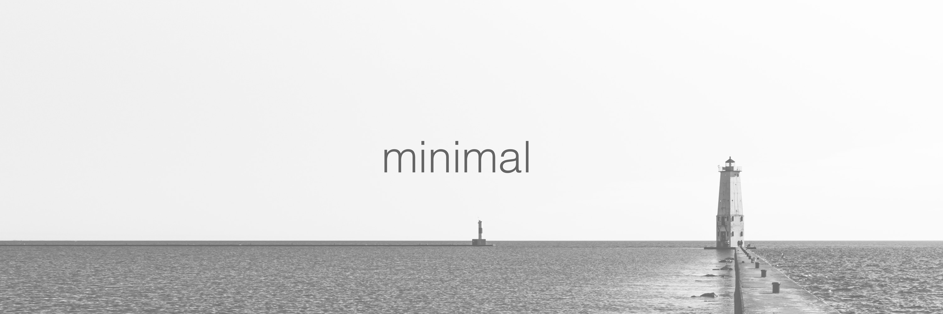 <div class='title'>           Minimal Lighthouse         </div>