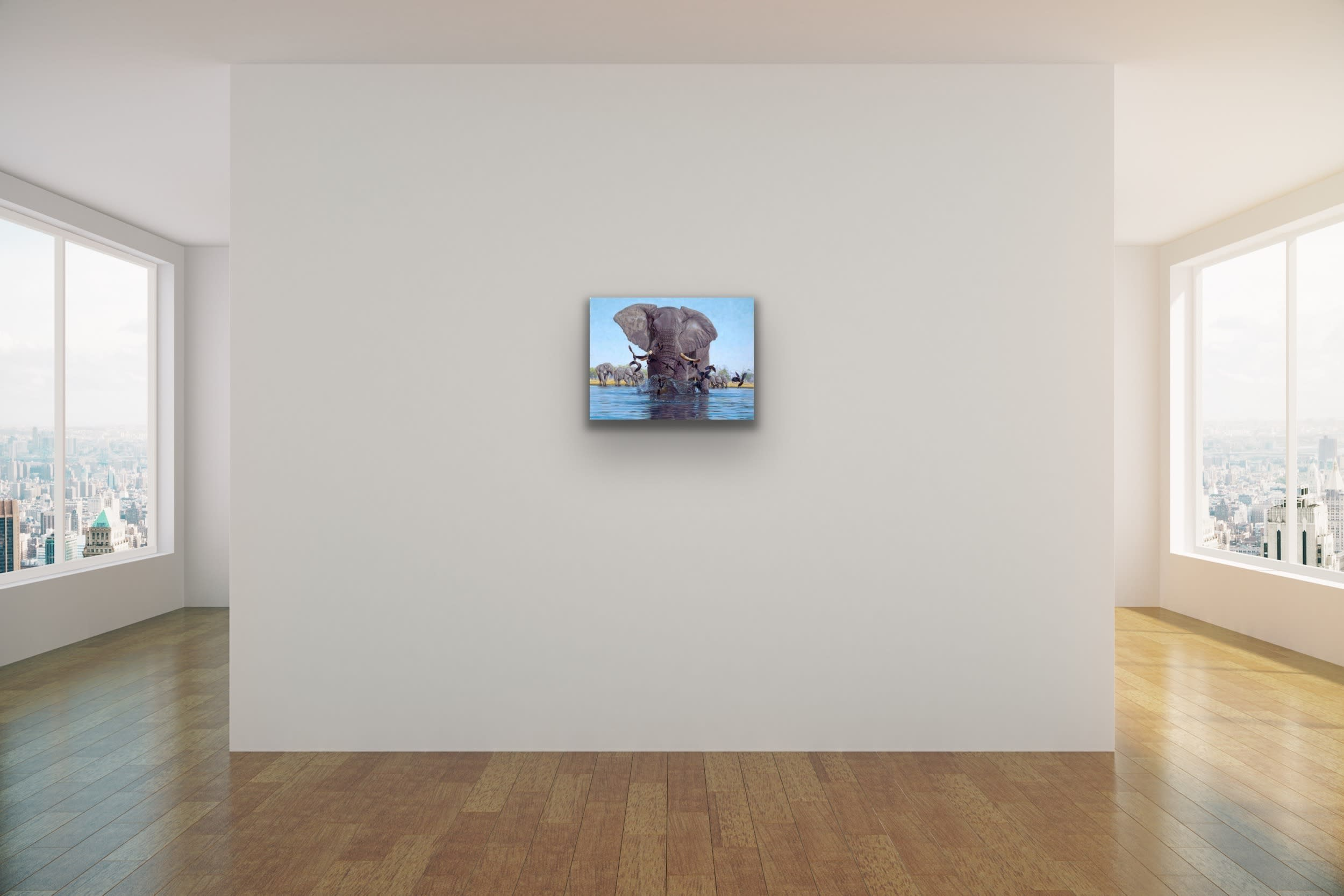 <div class='title'>           John Banovich Wildlife Africa Art Kammy Hodges Maui Art Galleries Lahaina 65         </div>