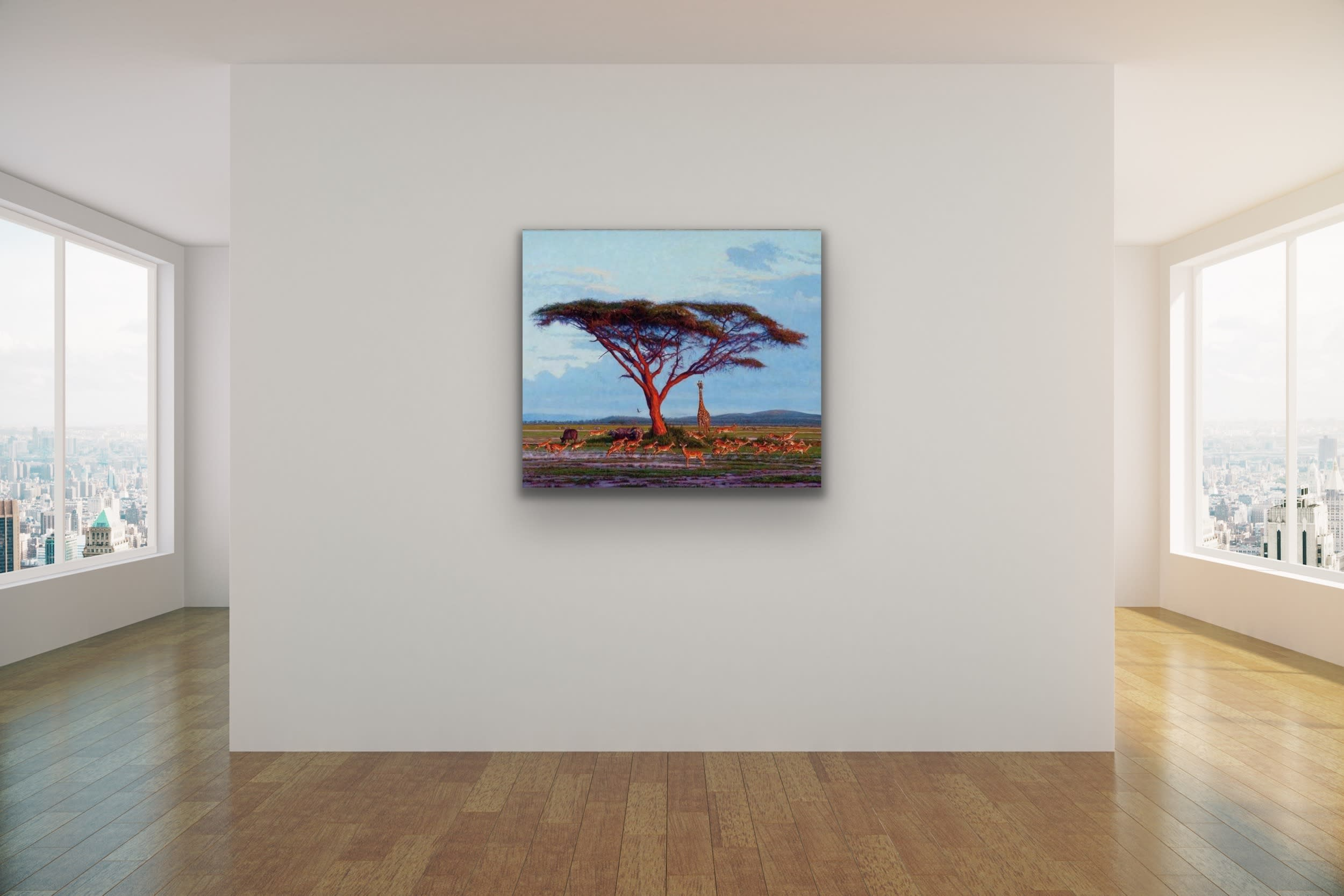 <div class='title'>           John Banovich Wildlife Africa Art Kammy Hodges Maui Art Galleries Lahaina 74         </div>