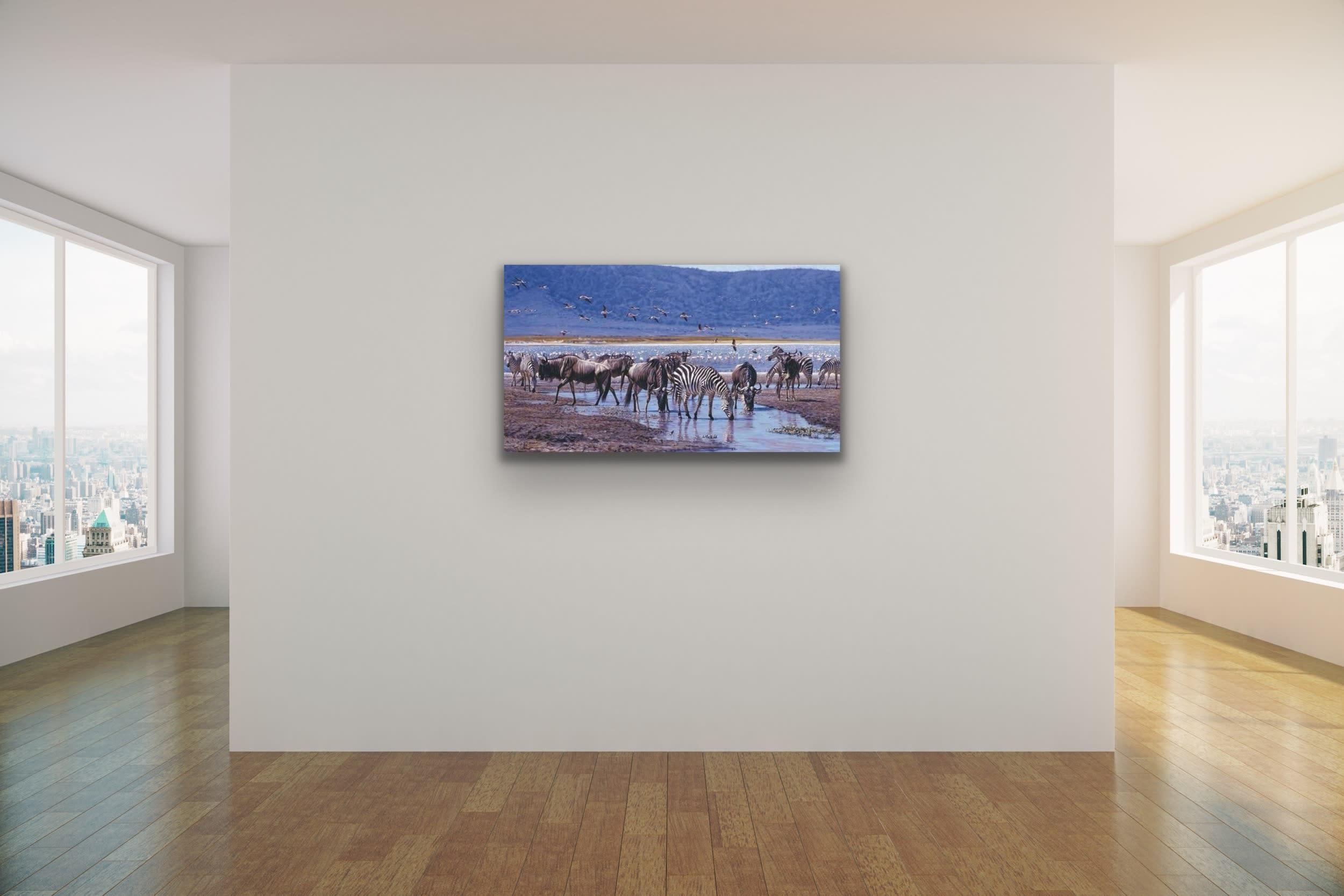 <div class='title'>           John Banovich Wildlife Africa Art Kammy Hodges Maui Art Galleries Lahaina 80         </div>