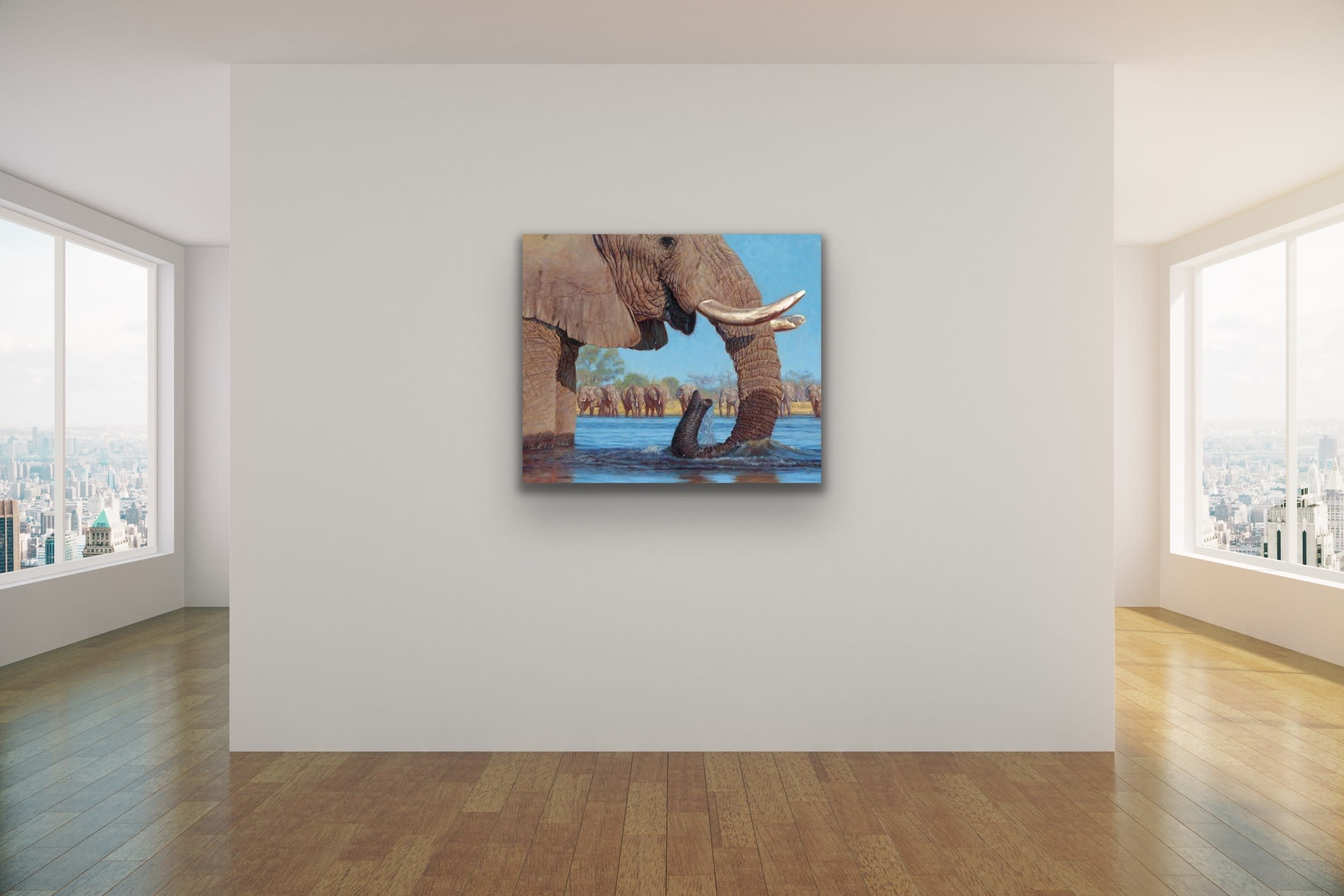 <div class='title'>           John Banovich Wildlife Africa Art Kammy Hodges Maui Art Galleries Lahaina 102         </div>