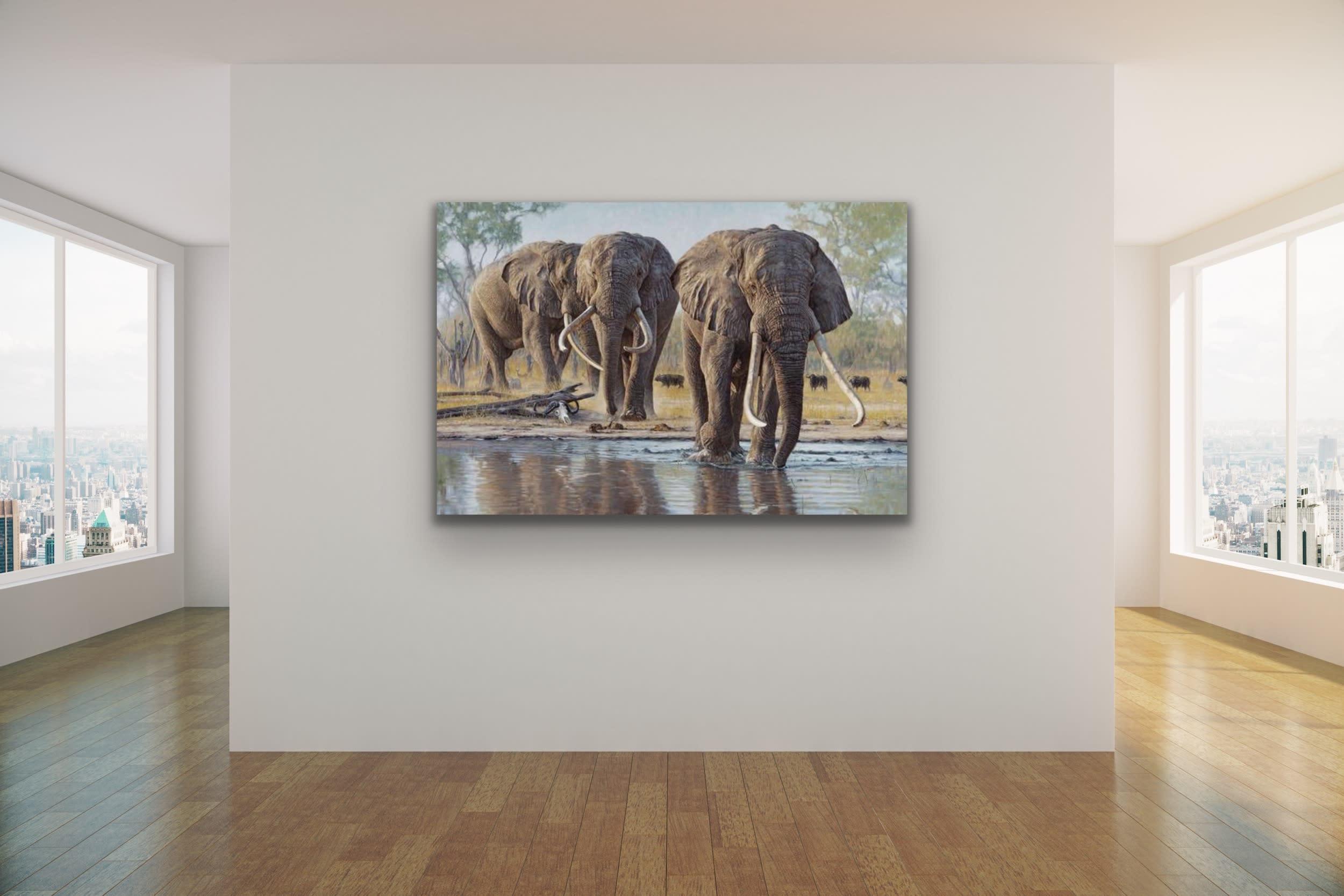 <div class='title'>           John Banovich Wildlife Africa Art Kammy Hodges Maui Art Galleries Lahaina 119         </div>