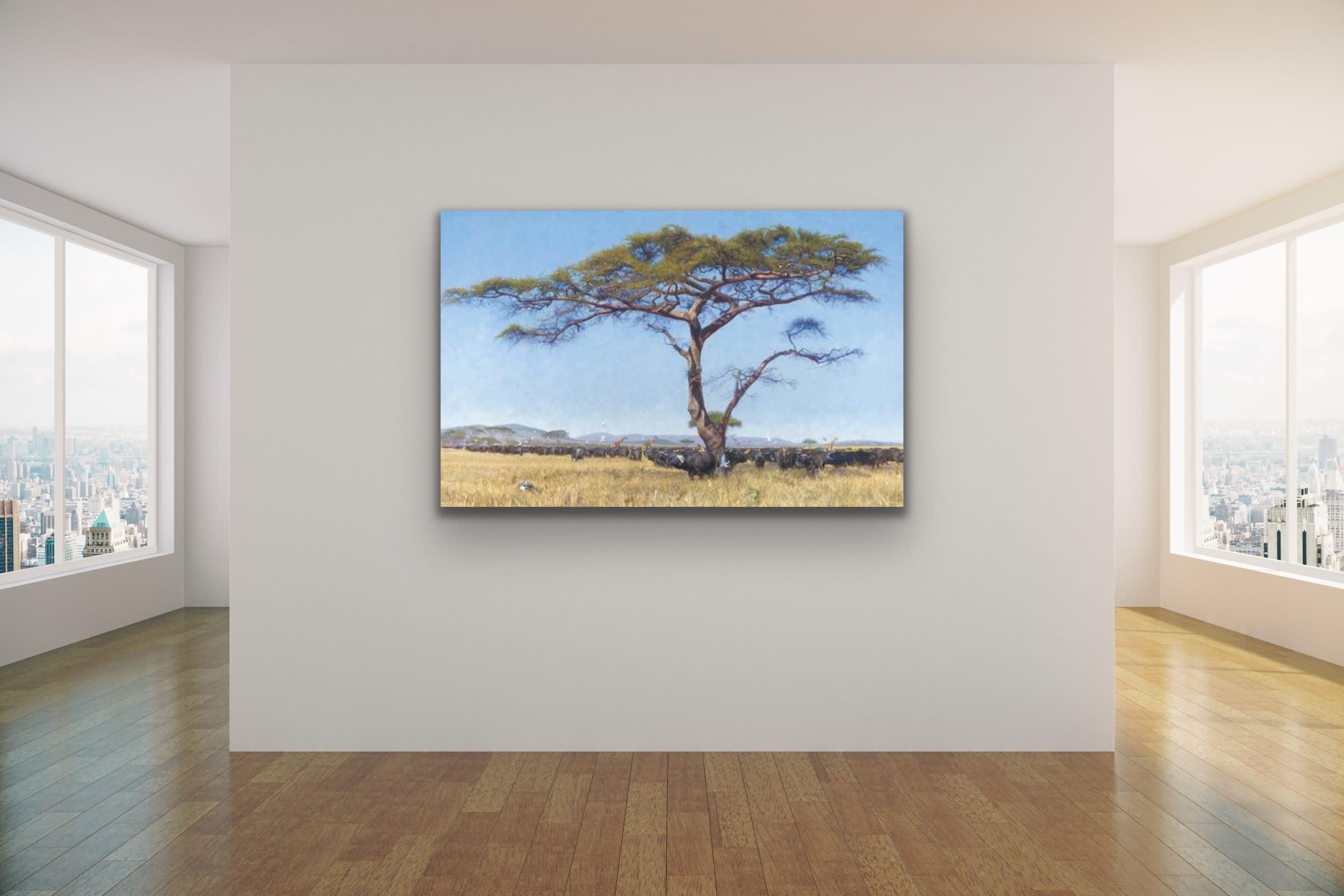<div class='title'>           John Banovich Wildlife Africa Art Kammy Hodges Maui Art Galleries Lahaina 120         </div>