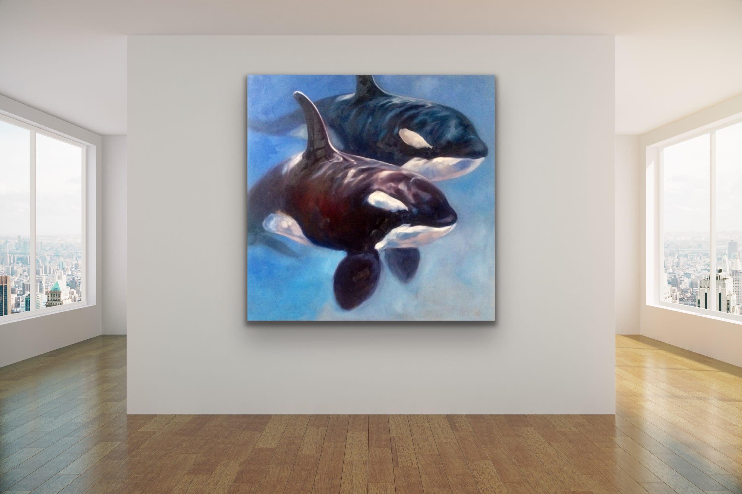 <div class='title'>           Maui Art Gallery   Kindrie Grove Lahaina Artist Whale Painting Sea Ocean Animal Kammy Hodges 10 (1)         </div>