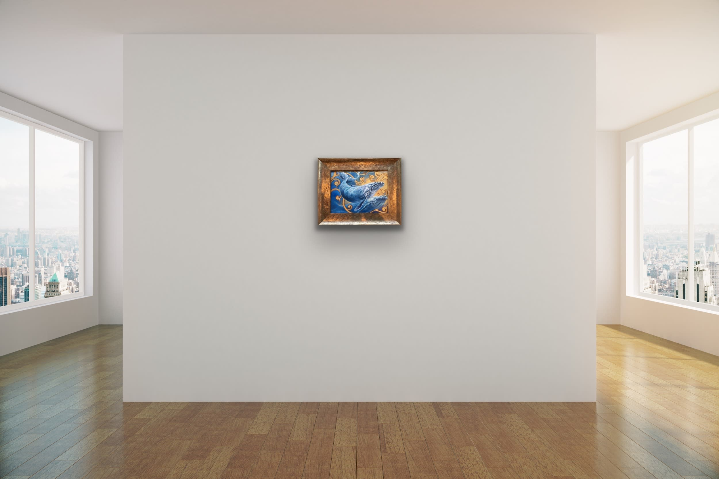 <div class='title'>           Maui Art Gallery   Kindrie Grove Lahaina Artist Whale Painting Sea Ocean Animal Kammy Hodges 7 (1)         </div>
