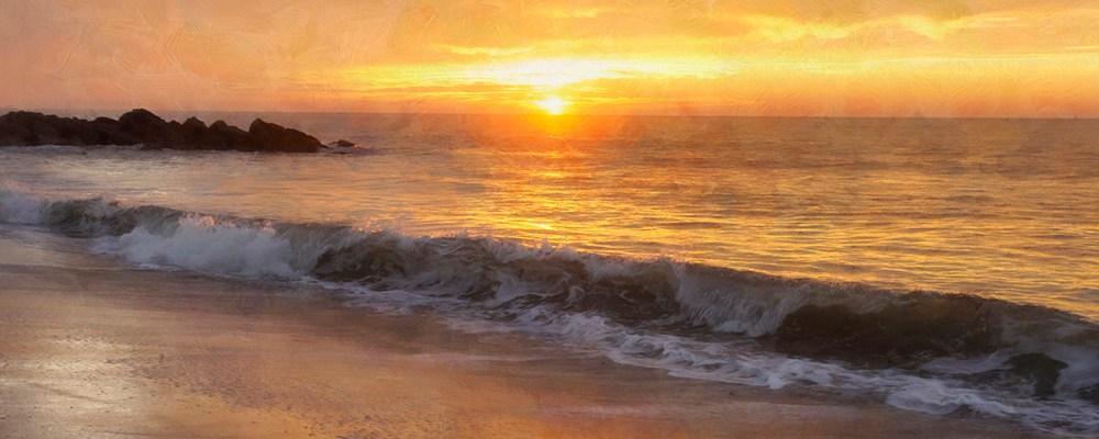 <div class='title'>           Sunrise Cape May Beach 1000x400         </div>