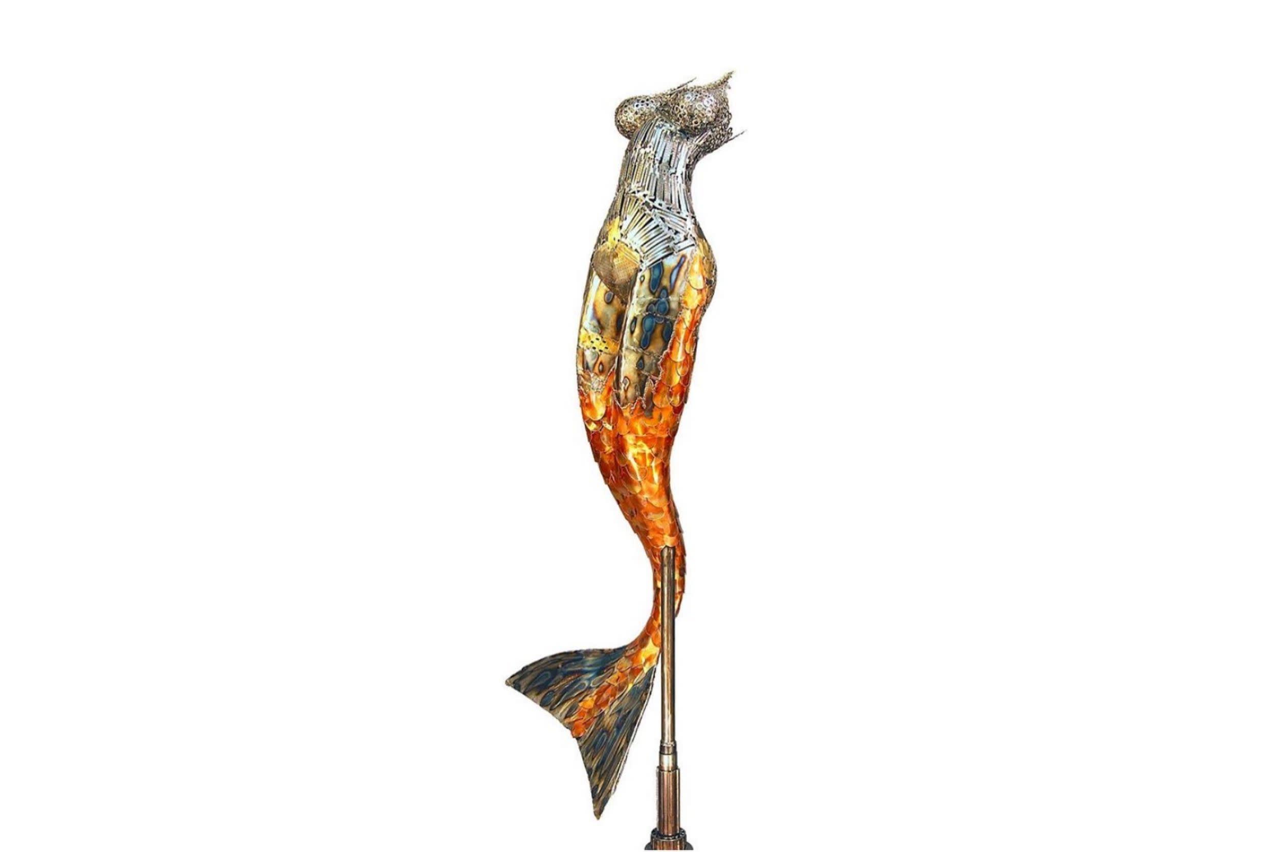 <div class='title'>           Brian Mock Artist Maui Art Galleries Evo Art Maui Sculpture 1         </div>