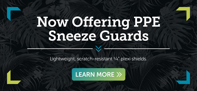 <div class='title'>           Pictures Plus - PPE sneeze guards         </div>                 <div class='description'>           Now offering PPE sneeze guards. Learn More         </div>