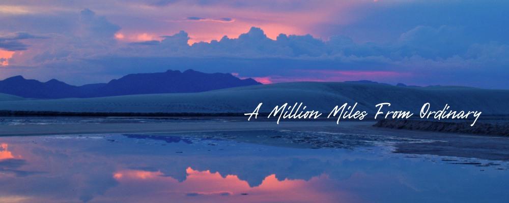 <div class='title'>           White Sands National Park at Sunset         </div>                 <div class='description'>           Glorious Colorful Sunset Reflecting in Water at White Sands National Park.         </div>