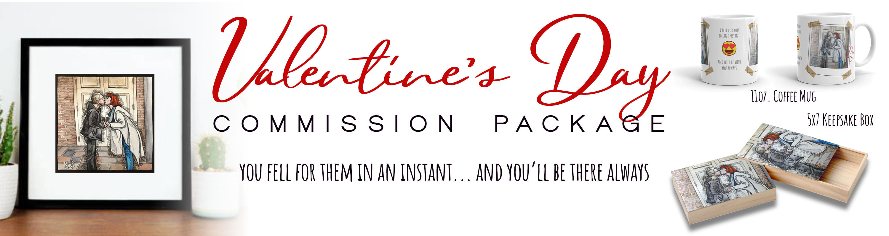 <div class='title'>           Valentines Commission Package         </div>                 <div class='description'>           Valentines Commission Package         </div>