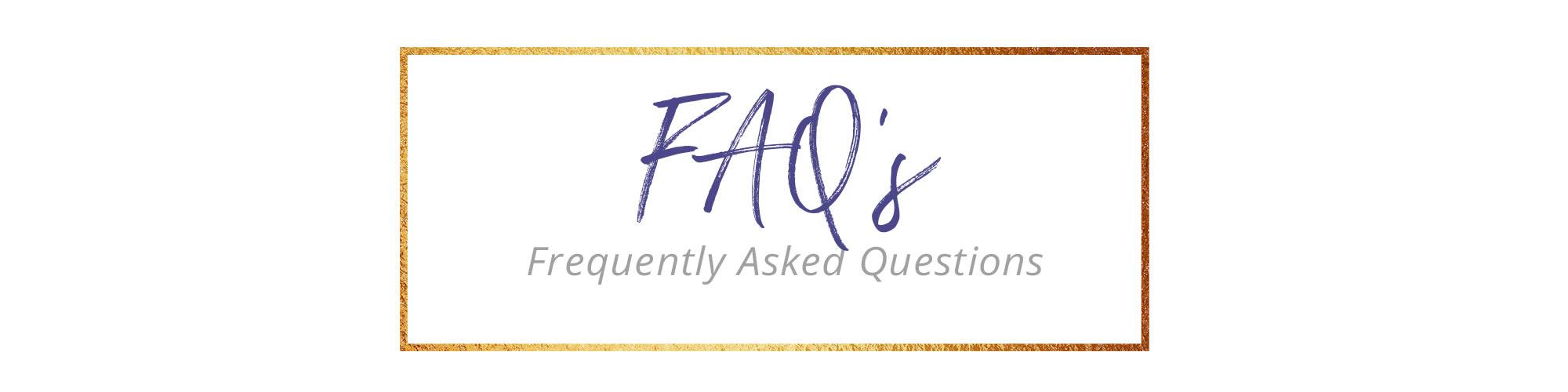 <div class='title'>           FAQ         </div>