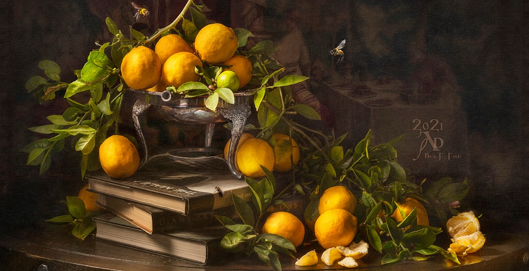 <div class='title'>           Still life with Lemons and Books Limited Edition         </div>