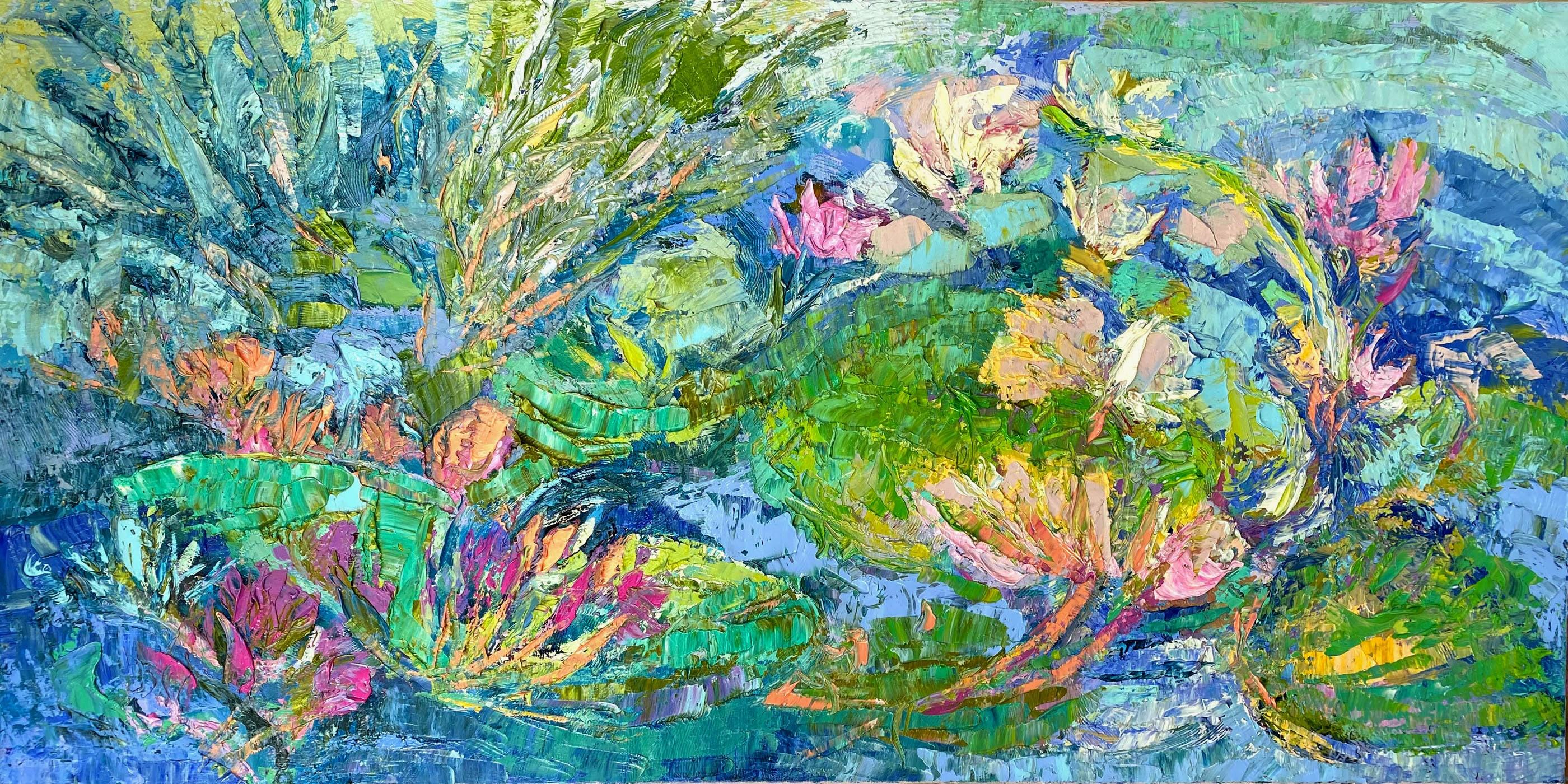 <div class='title'>           Ever Glistening         </div>                 <div class='description'>           Original Oil Painting         </div>