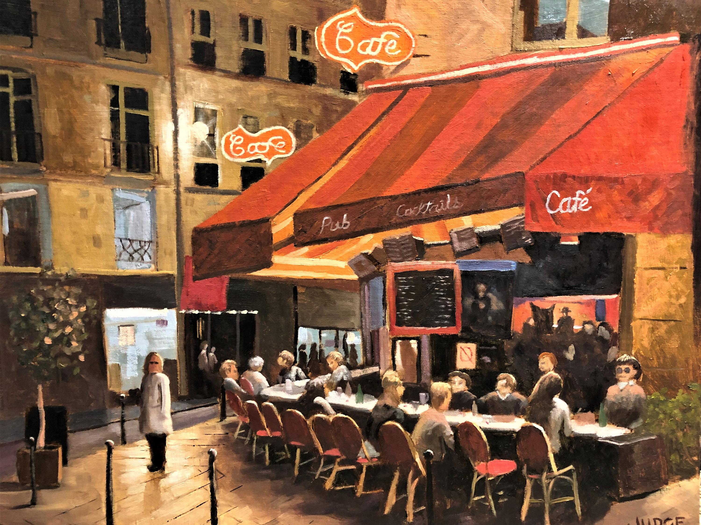 <div class='title'>           Night Cafe by Tim Judge         </div>                 <div class='description'>                    </div>