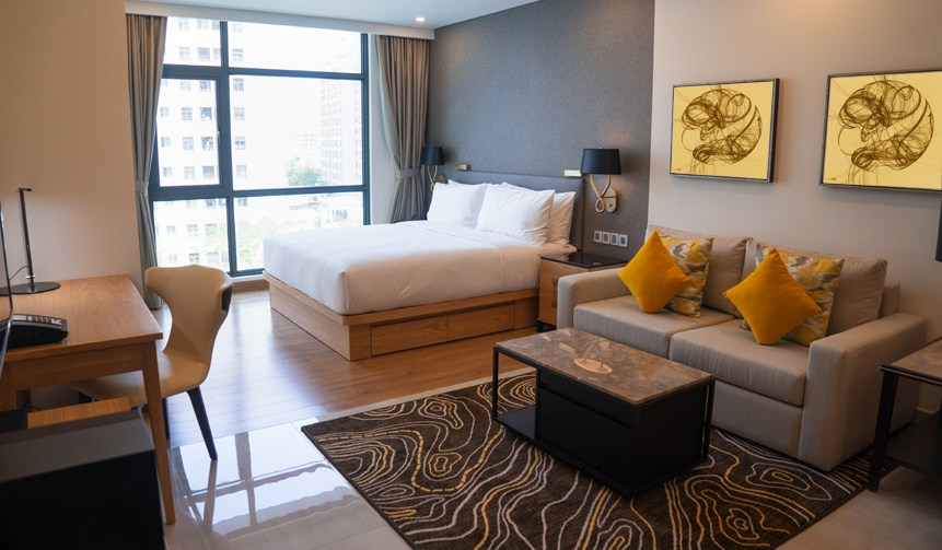 <div class='title'>           CF2xBubbleWeaveCropped 72dpi modern studio apartment design with bedroom living space         </div>