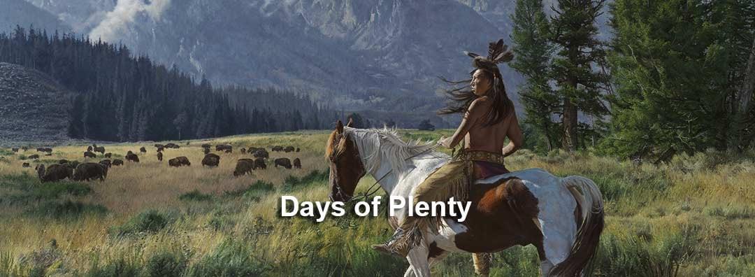 <div class='title'>           Days of Plenty         </div>