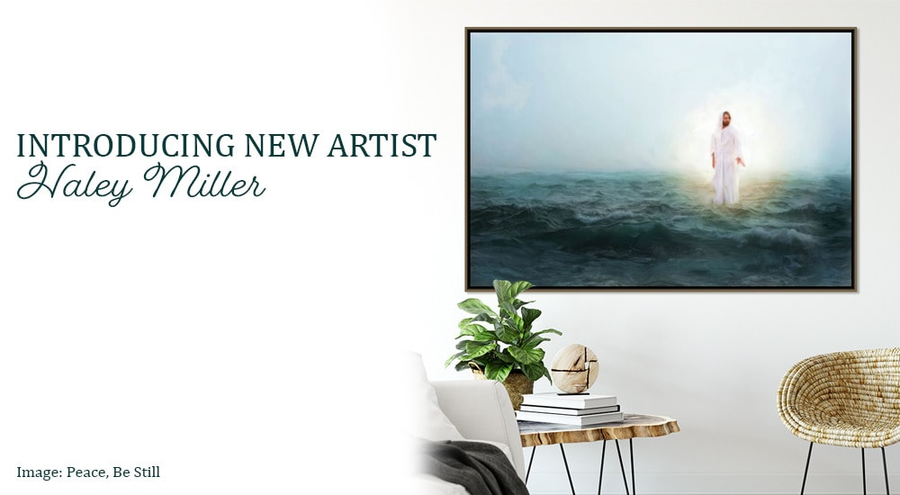 Haley miller new artist with peace be still banner htjir8