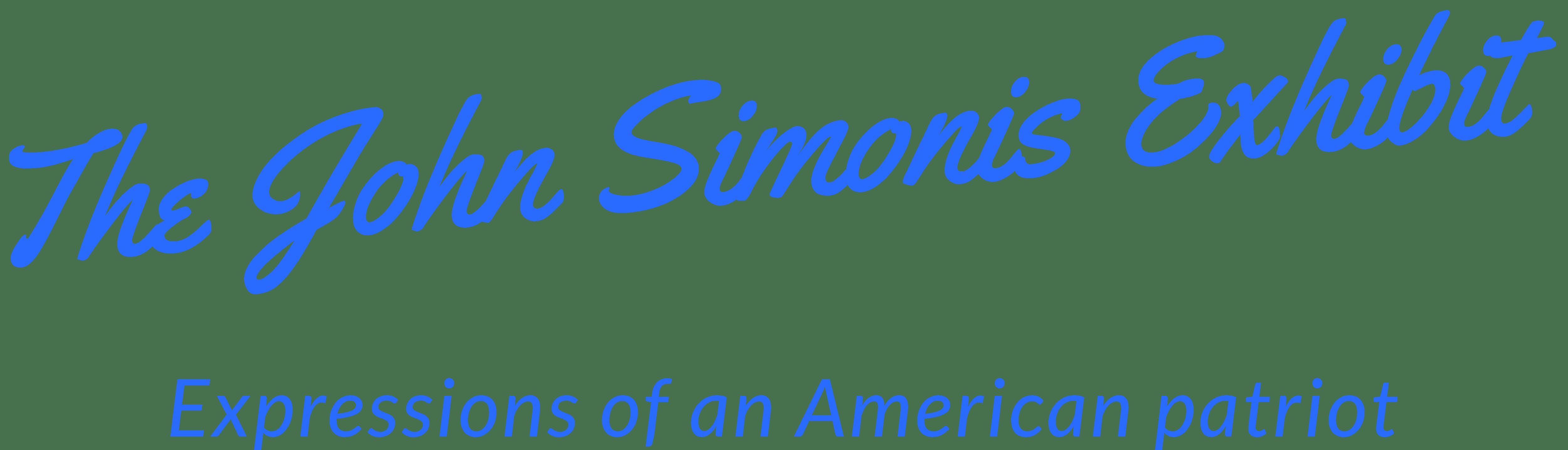 The John Simonis Art Gallery