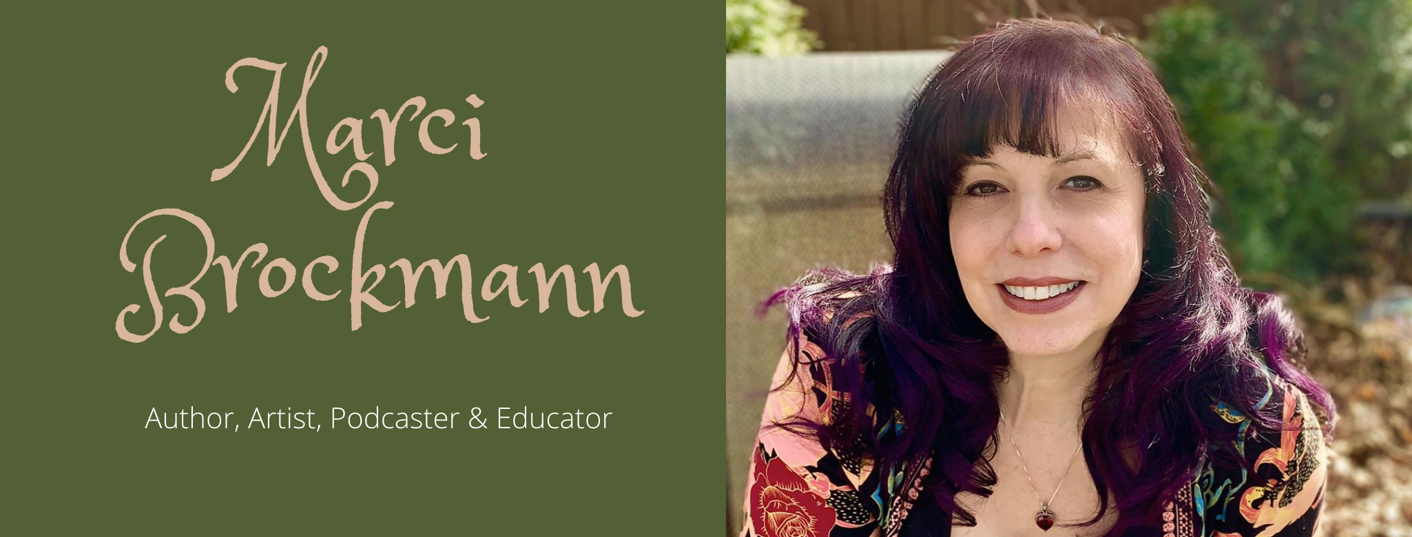 Marci Brockmann Author, Artist, Podcaster & Educator