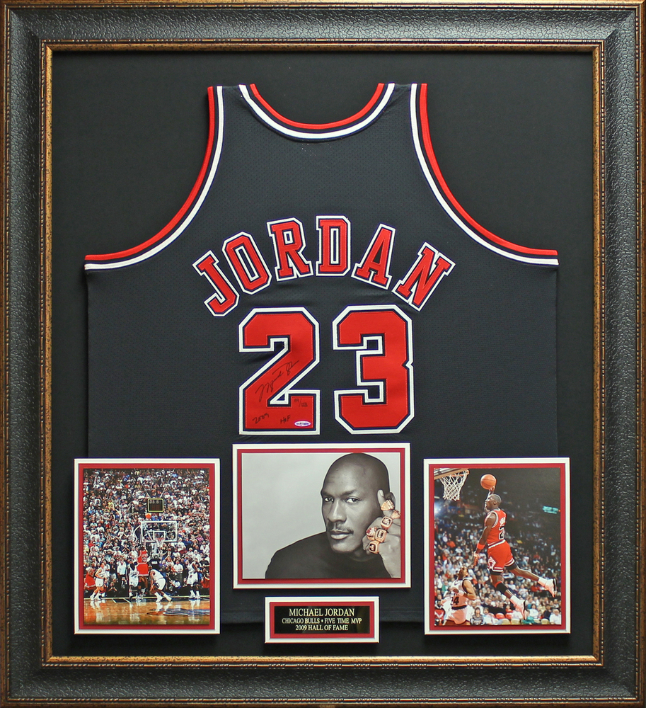 specialty designs with plaques include an engraving with your signed jersey