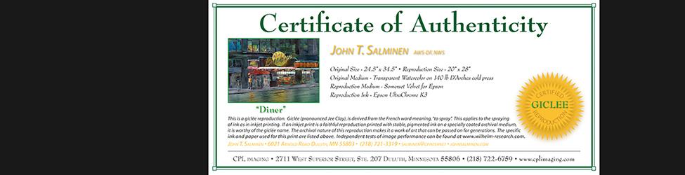Giclee certificates bannercert long6tbgovz yadclub Gallery
