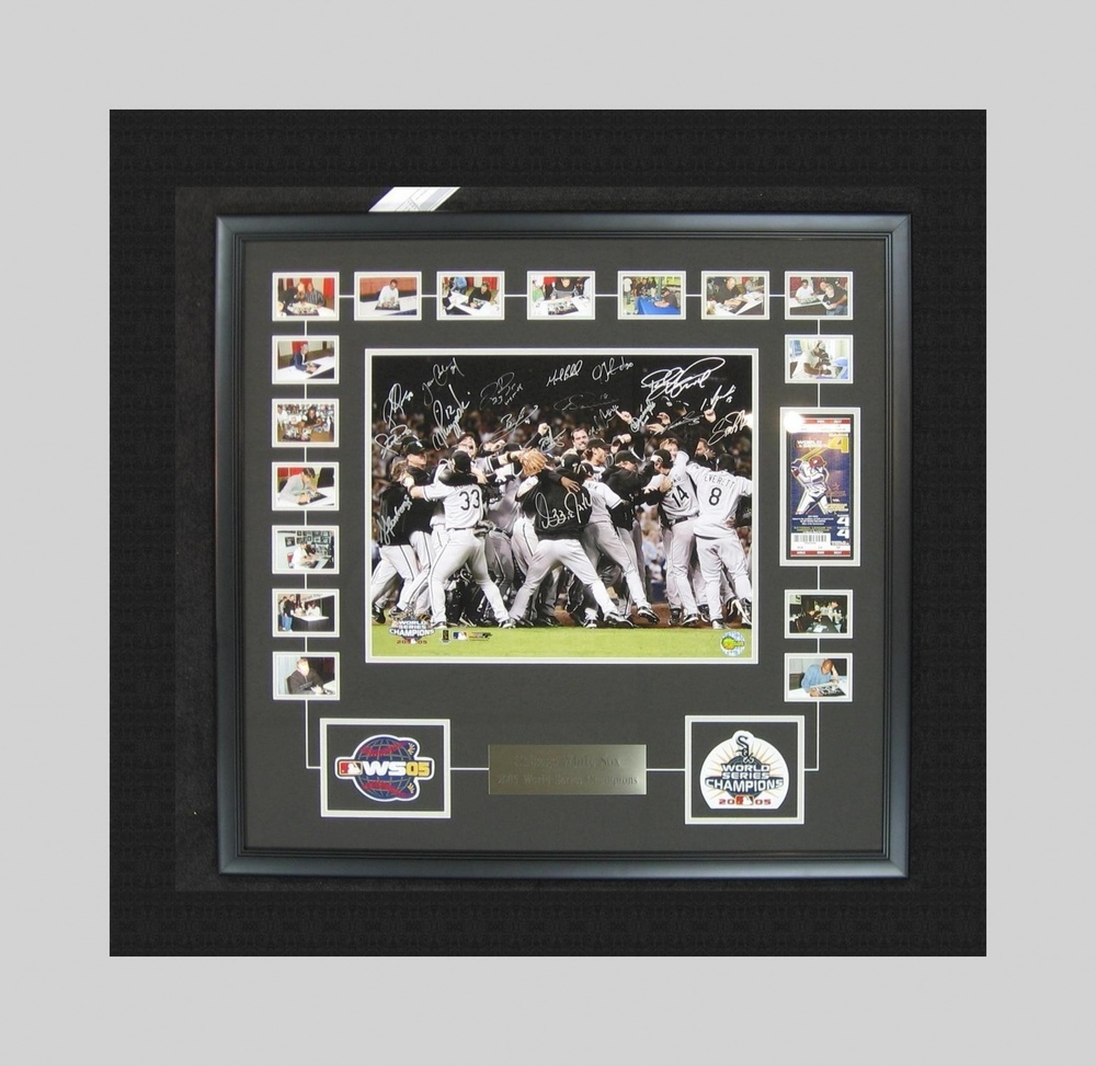 Sports framing double sided frame designs are offered for pick up or local delivery only we cannot ship double sided frames jeuxipadfo Gallery