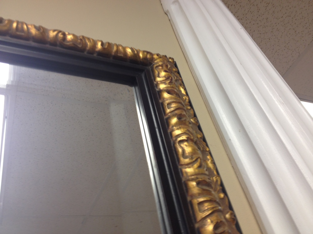 Custom cut mirrors mirror frames naperville il for Custom cut mirror