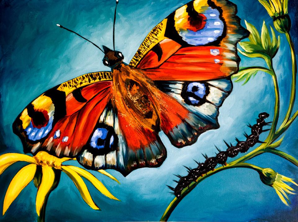 Butterfly billboard fvmndg