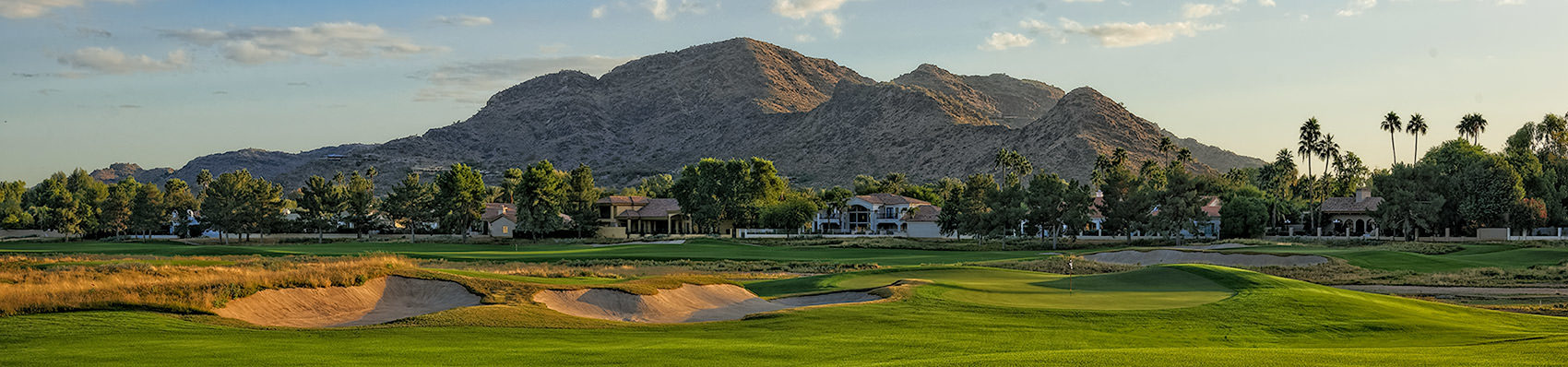 <div class='title'>           Ambiente's 13th          </div>                 <div class='description'>           JW Marriott Camelback Resort's Ambiente Course, 12th Hole, with Camelback Mountain in the background         </div>