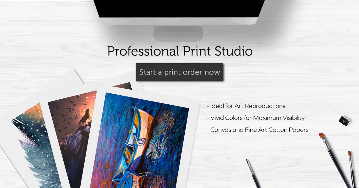 professional print studio offering giclee printing and art