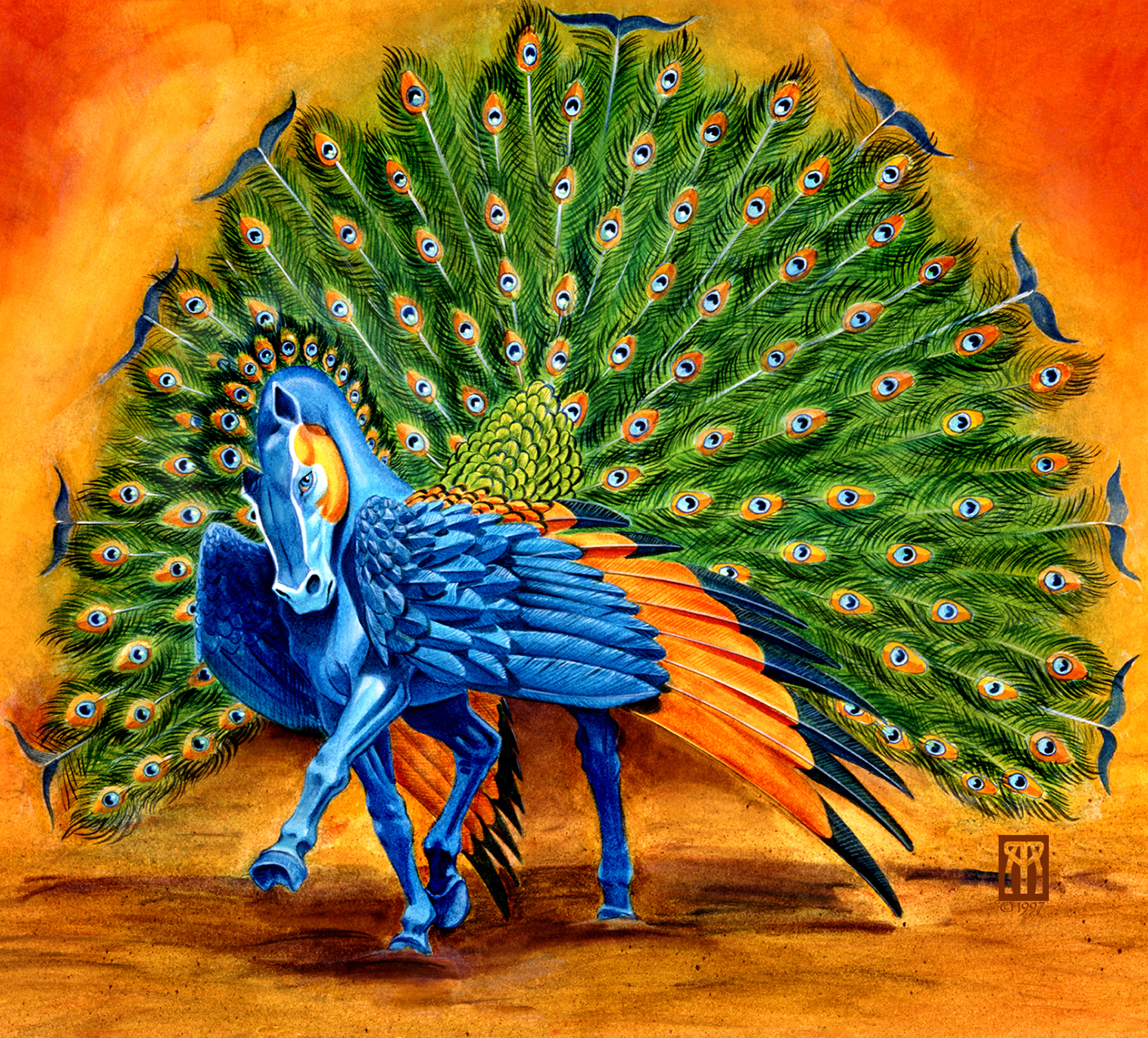 Peacock pegasus rix2vi