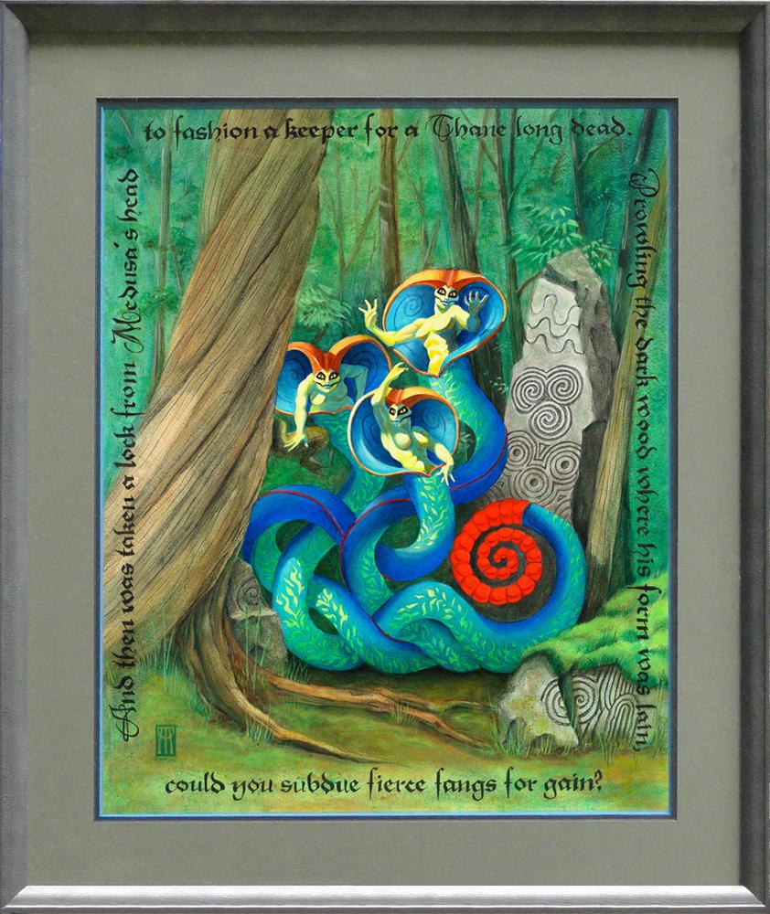 Medusa framed 1000 pix eljklf