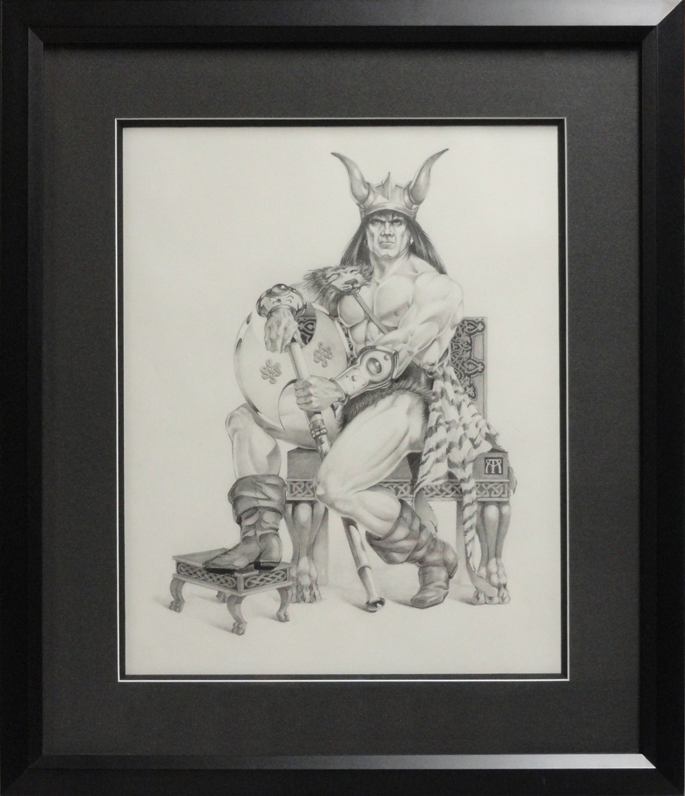 Conan black and white framed 100 x 1161 jhhccs