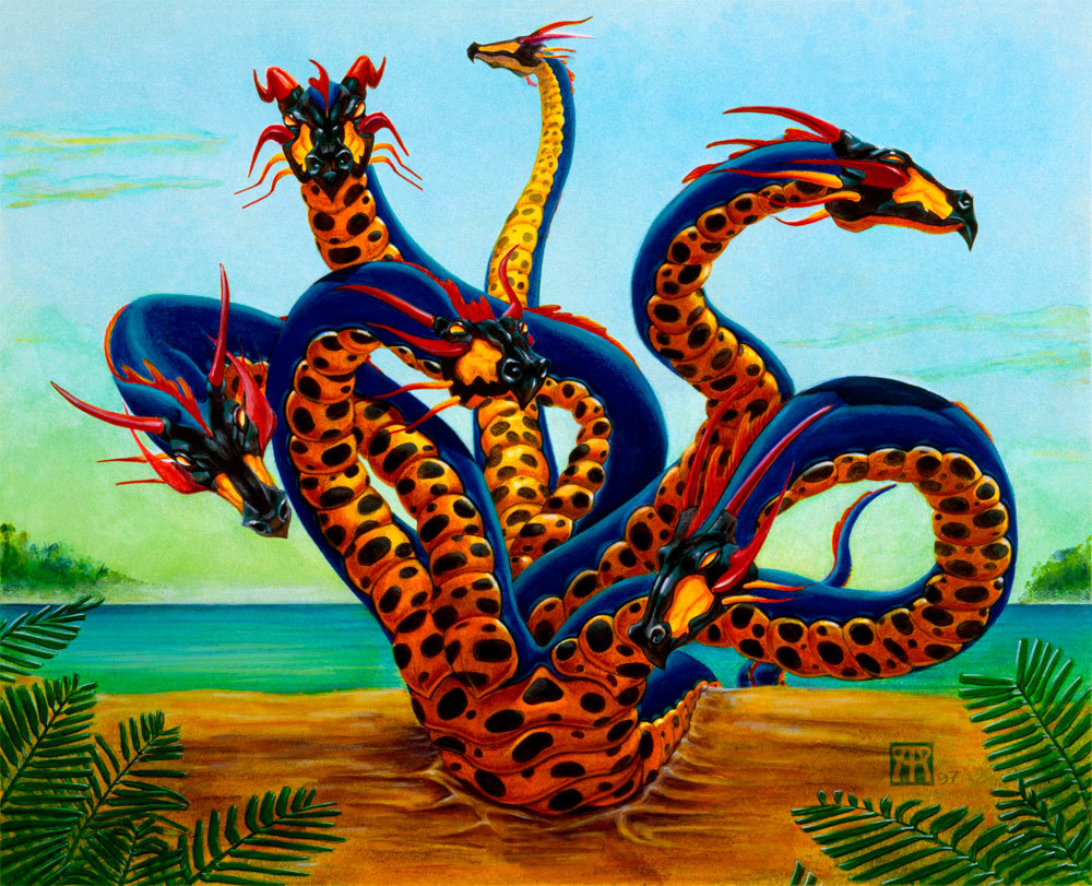 Hydra on beach 1000 px uanohn