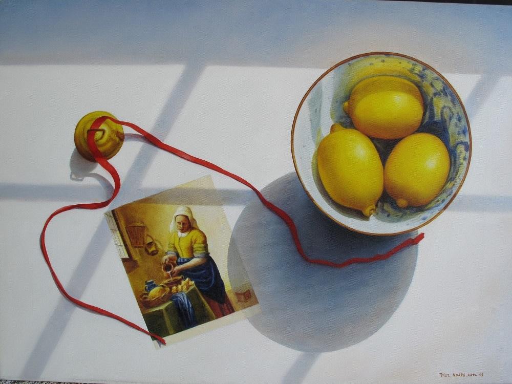 Flor lemons and vermeer 16 x 22 1650 2010 oil ufbnj6