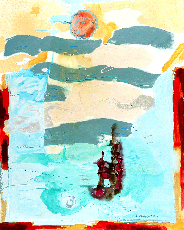 Flight of icarus 36 x48 acrylicoriginal mxgnzs