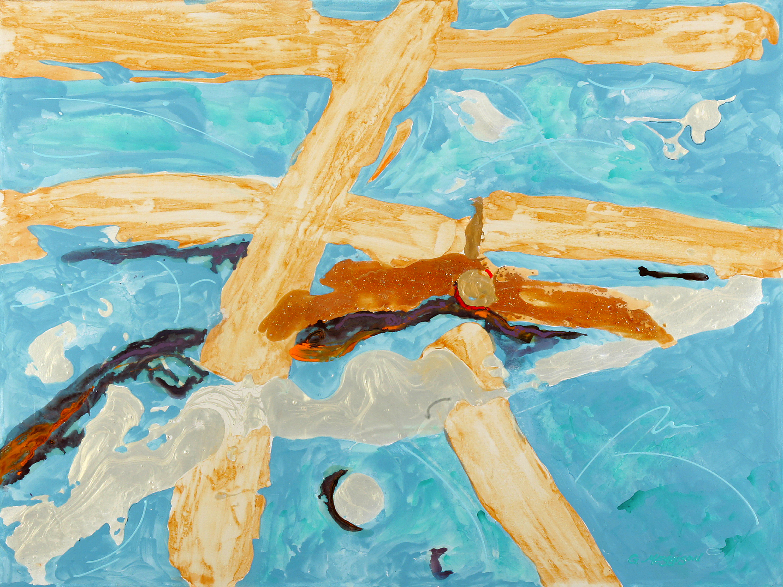 Icarus rising 36 x48 origacrylic dcgku3