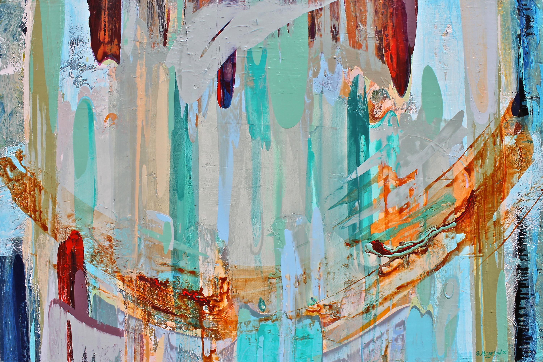 Color stream 40 x60 orig acrylic dhybbg