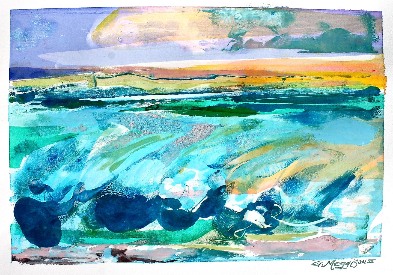 Bigsurf 14 x20 watercolor orig v2oyn5