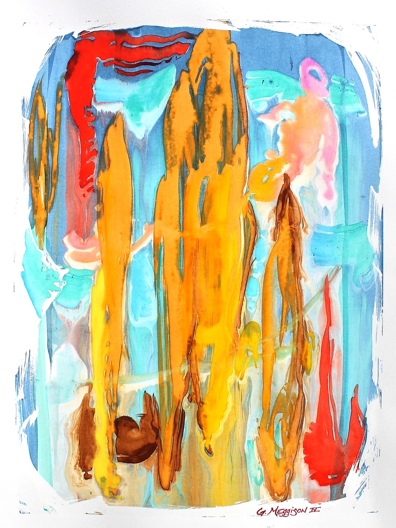 Icarus 18 x24 watercolor orig h0umtb