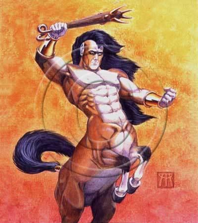 Ranting centaur dyww0r
